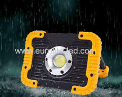 euroliteLED 750Lumens Worklight Lithium battery Nylon+TPR 17.5cm*13cm*4.5cm Press switch