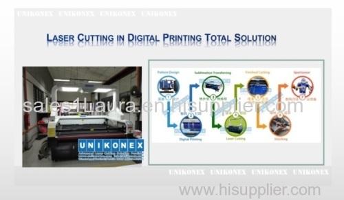 Laser cutting vinyl machine