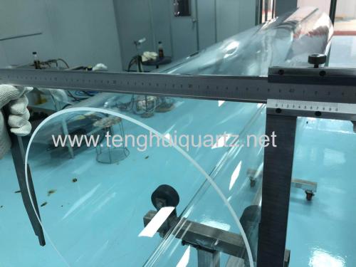 large aperture quartz tube
