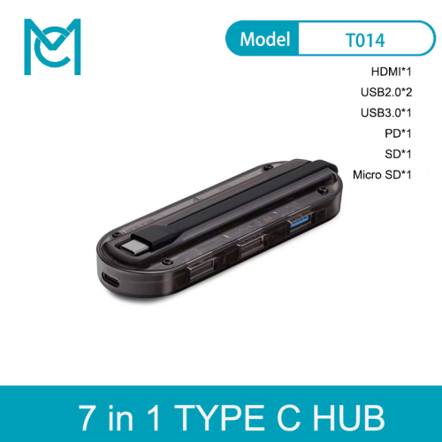 MC Factory Direct Supply 7-in-1 HDMI Type C Adaptor For N-intendo Switch