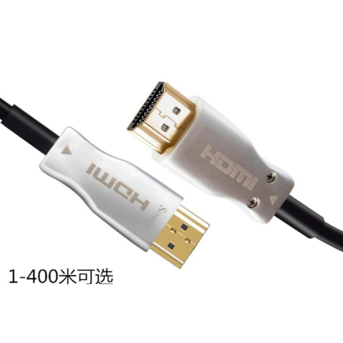 MC Optical Fiber HDMI 2.0 Cable Ultra-HD (UHD) 4K Cable 60Hz with Audio Video HDMI Cord HDR 4:4:4 Lossless Amplif