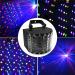 euroliteLED 30W Multifunction 9 Colors LED Beam Strobe Lights for Birthday Wedding Club Party DJ Lights Disc