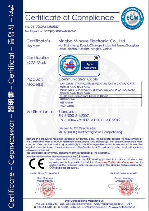 emc certificate certificates