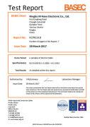 BASEC Certificate