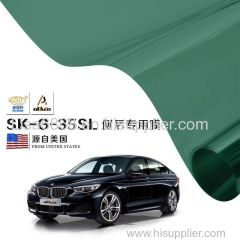 Hot sale 2 ply self-adhesive 1.52*30m vlt35% solar window film for car