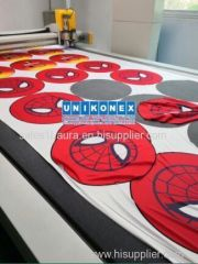 Easy laser cutting wide format printing