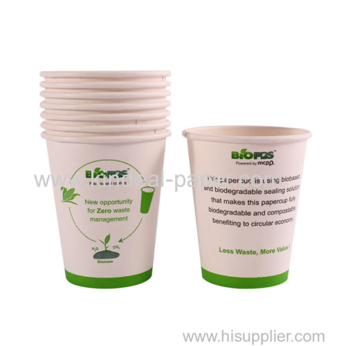 BIO PBS coated paper cup