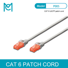 MC CAT 6 U/UTP Patch Cord PVC AWG 26/7