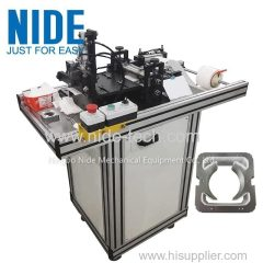 2 slots universal motor stator slot paper cutting machine manufacturer