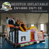 Commercial outdoor pirate theme inflatable slide