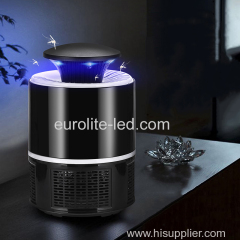 euroliteLED Mosquito Killer UV Lamp 5W Electronic Bug Zapper Indoor Insect Zapper for Home/Bedroom/Kitchen/Office Use