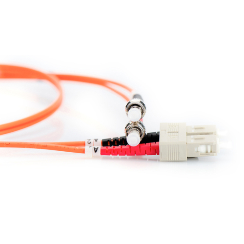 MC Professional Fiber Optic Multimode Patch Cord ST / SC