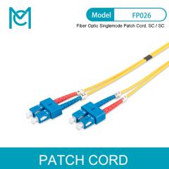 MC Future-oriented Standards Fiber Optic Singlemode Patch Cord SC / SC