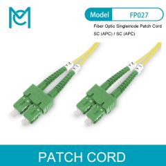 MC Professional Fiber Optic Singlemode Patch Cord SC (APC) / SC (APC)