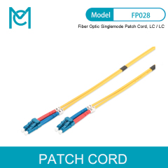MC Fiber Optic Singlemode Patch Cord LC / LC