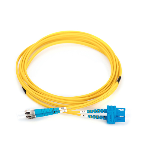 MC Fiber Optic Singlemode Patch Cord ST / SC