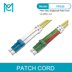 MC Professional Fiber Optic Singlemode Patch Cord LC (APC) / LC