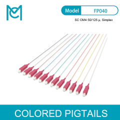 MC Colored Pigtails SC OM4 50/125 Simplex