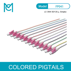 MC Colored Pigtails LC OM4 50/125 Simplex