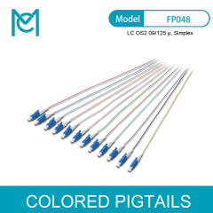MC Colored Pigtails LC OS2 09/125 Simplex
