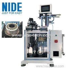 Auto BLDC servo motor stepping motor stator slot paper cutting and forming insertion machine in China