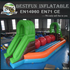 Inflatable Wipeout Big Jump Balls Games