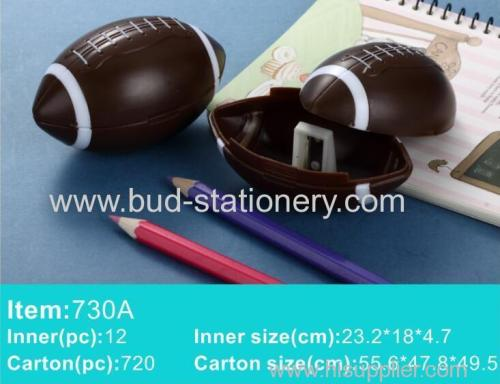 Football basketball tennis ball pencil sharpener
