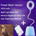 euroliteLED 2.5W Blue Dimmable Multi-use Desk Lamp Rechargeable 4000mAh 3 Gear Touch Control 4000K Eye-Caring Lamp