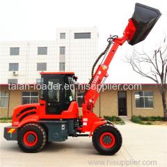 1500kg telescopic wheel loaer front end shovel loader