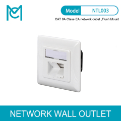 MC CAT 6A Class EA Network Outlet Design Compatible Shielded