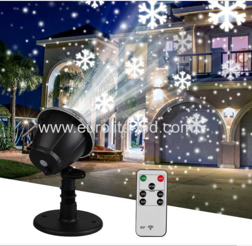 Led Snow Projection Outdoor Holiday Christmas Control Light