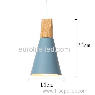 euroliteLED 9W Single-Head LED Chandelier Nordic Modern Simplicity Pendant Lamp Hanging Wire
