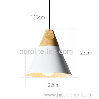 euroliteLED White Single-Head LED Chandelier Nordic Modern Simplicity Pendant Lamp Hanging Wire 120cm Freely Adjustable