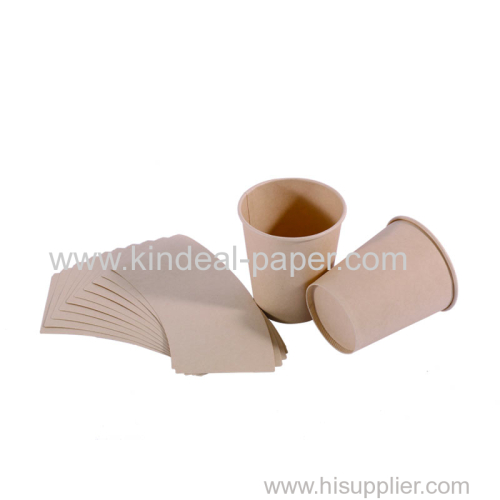 eco bamboo pulp raw material paper for paper cup