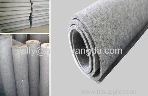 industrial virous style grey wool felt