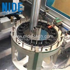 Large BLDC stator coil winding machine needle winder for water pump motor