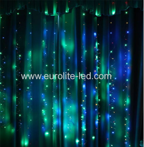 Led Copper Color Remote Control Maiden Room Outdoor Decoration String Light