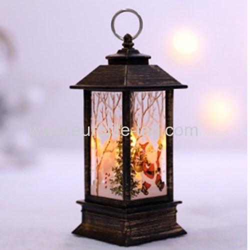 Led Fire - like hand - decorated shop Windows Christmas small oil light