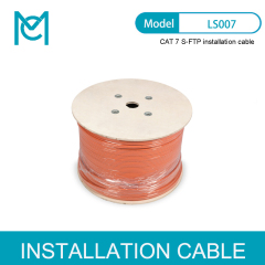 MC 10GBit Ethernet Cat.7 S/FTP Installation Cable 500 m Duplex ECA