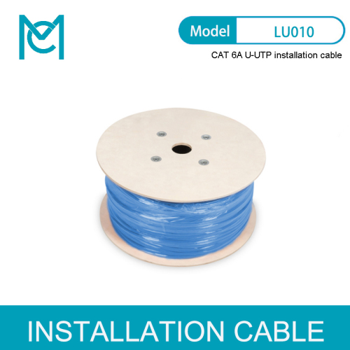 Professional Cat.6A U/UTP installation cable LSZH
