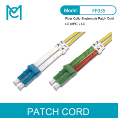 MC Fiber Optic Singlemode Patch Cord LC (APC) / LC