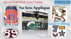 Permanent Sports Twill No Sew Applique Cutting tackle twill cutting