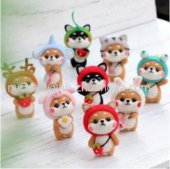 2019 Fashion Custom Dog Doll Wool Felt Craft DIY Non Finished Poked Set Handcraft Kit for Needle Material Bag Pack