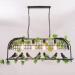 euroliteLED Four Head Black Traditional Birdcage Pendant Lighting Creative Chandelier Vintage Loft Metal Ceiling Lamp