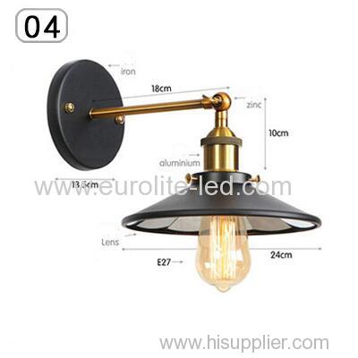 euroliteLED Industrial Vintage Wall Lamp Fixture Simplicity Arm Swing Wall Lights(Model 4)