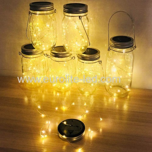 Led Solar Powered Waterproof Copper Wire Outdoor Courtyard Price Of The Bottle Decoration Night Light