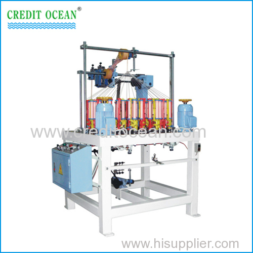 High speed rope weaving machine