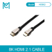 MC HDMI Cable UHD-2 8K@60Hz HDMI 2.1 HDR RGB 4:4:4 48Gbps HDCP2.2 for Splitter Switch PS4 TV xbox Projector Computer