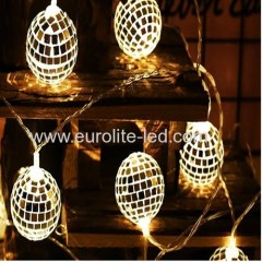 Led Mirror Ball String USB 3m 20Leds Romantic Fashion Party Holiday Stage Decoration Night Light