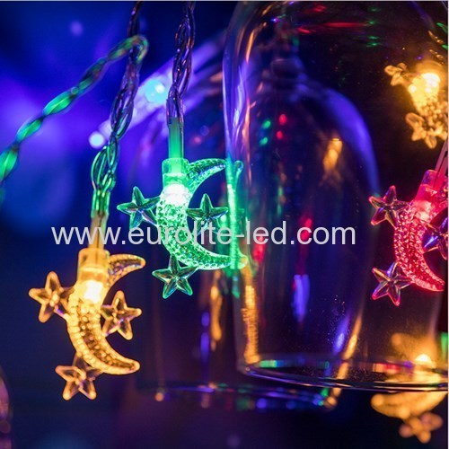 Led Moon Star String USB Cute Holiday Room Garden Decoration Night Light